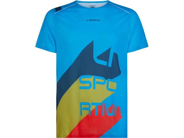 La Sportiva Stream T-Shirt Men, neptune/opal